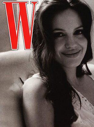 Prywatne zdjęcie Angelina Jolie na okładce