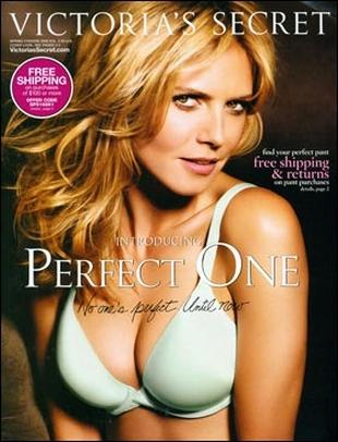 Heidi Klum topless dla Allure