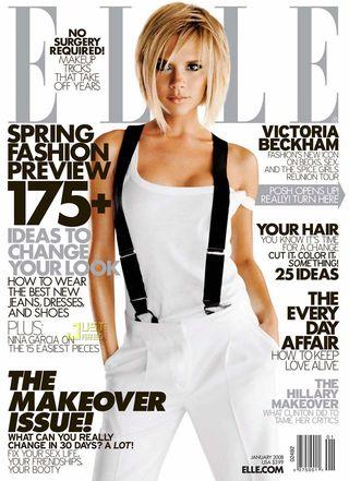 Victoria Beckham sypia nago