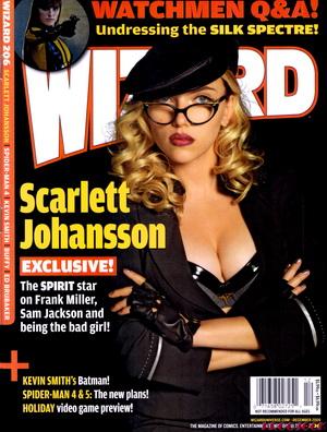 Scarlett Johansson na ostro