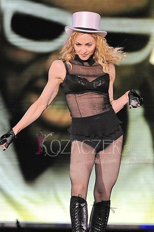 Wygwizdali Madonnę na jej koncercie!
