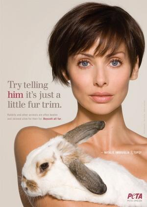 Natalie Imbruglia dla PETA