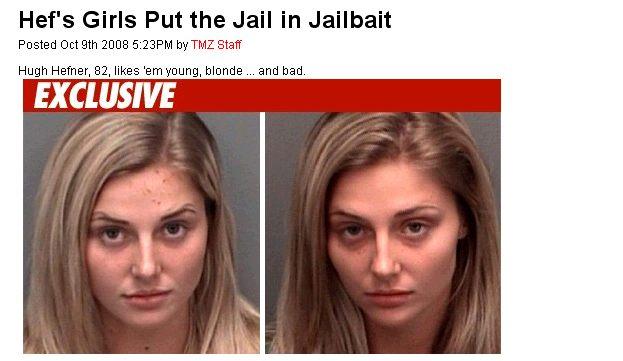 Nowe króliczki Playboya były aresztowane!