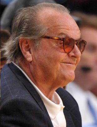 Jack Nicholson dopinguje swoją drużynę (FOTO)