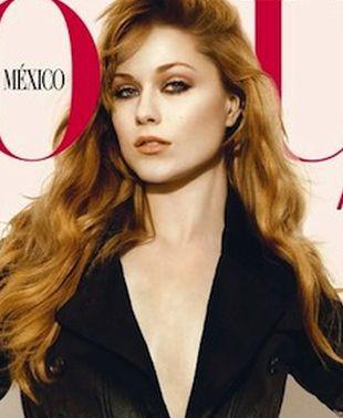 Seksowna Evan Rachel Wood na okładce Vogue (FOTO)