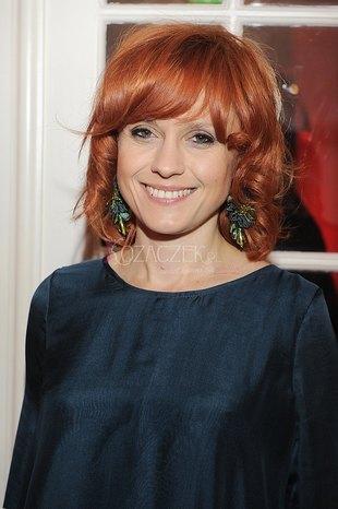 Aleksandra Woźniak przefarbowała włosy na rudo (FOTO)