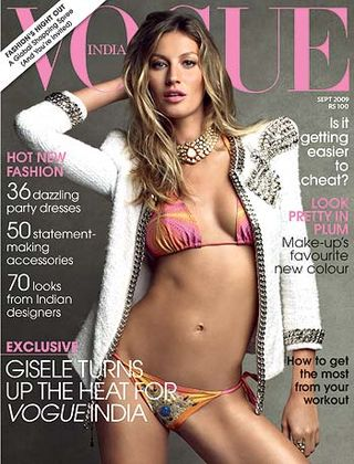 Gisele Bundchen w Vogue India (FOTO)
