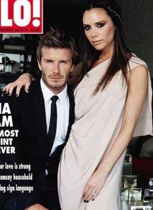 Rodzinka Beckhamów w drodze na zakupy (FOTO)