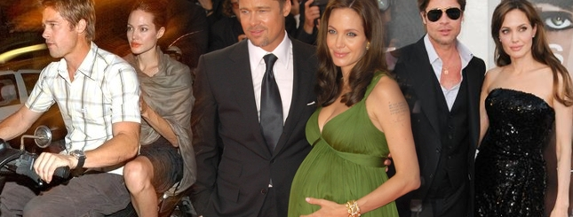 Jolie i Pitt - najgorętsza para show-biznesu (FOTO)
