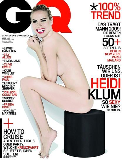 Heidi Klum naga i biała dla GQ (FOTO)
