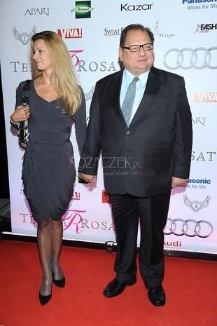 Ryszard Kalisz ze swoją piękną partnerką (FOTO)