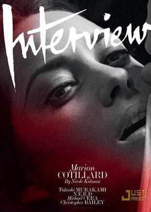 Subtelna Marion Cotillard w Interview (FOTO)