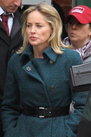 Sharon Stone też chodzi do pracy (FOTO)