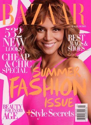 Halle Berry w magazynie Harper's Bazaar (FOTO)