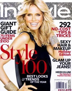 Heidi Klum na okładce magazynu In Style