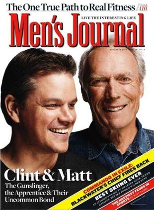 Damon i Eastwood: Łączy nas szczególna więź (FOTO)