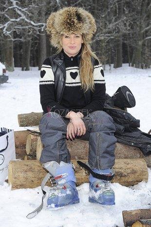 Beata Sadurska w czapce sezonu (FOTO)