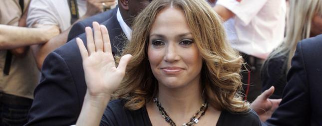 Jennifer Lopez na przedstawieniu (FOTO)