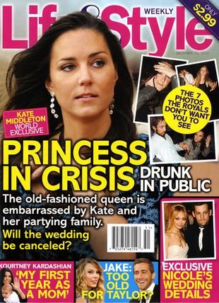 Kate Middleton chce pocałunku na ślubie