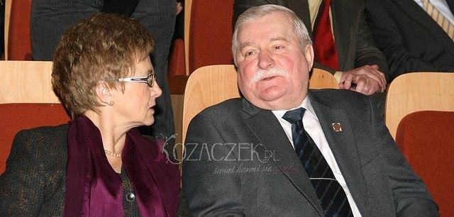 Wałęsa niezadowolony z autobiografii żony, Danuty