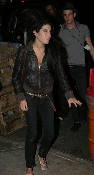 Spuchnięta buzia Amy Winehouse