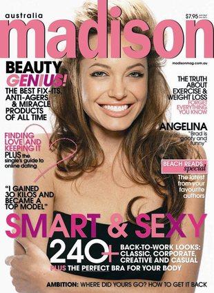 Angelina Jolie z małym Knoxem