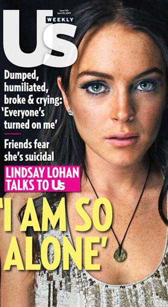Lindsay Lohan niszczy zdrowie swojej babci
