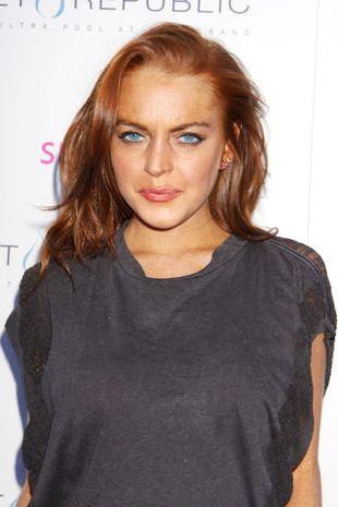 Lindsay Lohan nago w Playboyu