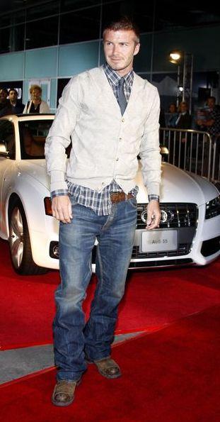 David Beckham zostanie projektantem!