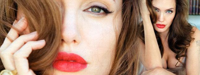 Angelina Jolie dla Vogue - odgrzewany kotlet?