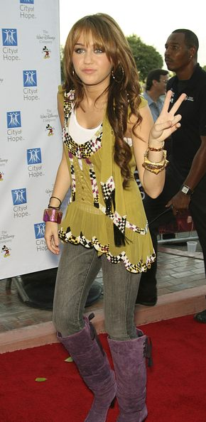 Milery Cyrus ma tatuaż