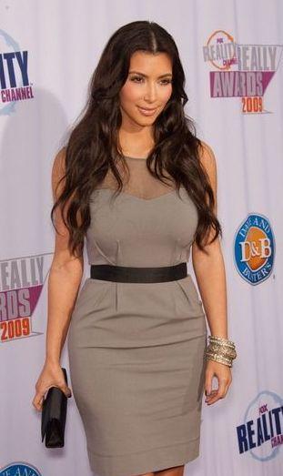 Codzienna Kim Kardashian ma dużo gorsze włosy (FOTO)