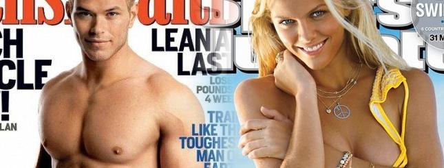 Kellan Lutz i Brooklyn Decker - najpiękniejsze ciała lata