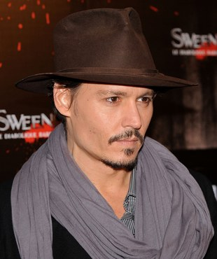 Johnny Depp ma gest