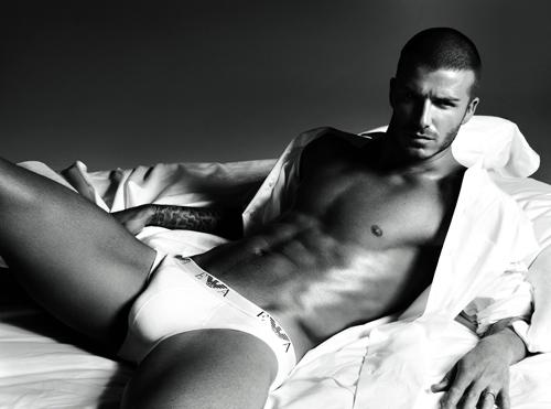 Beckham wypchał sobie majtki