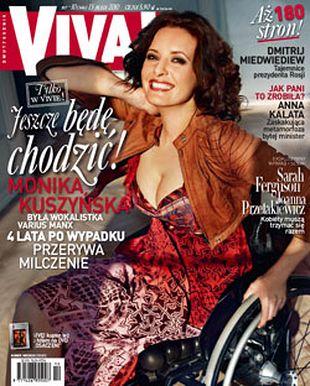 Monika Kuszyńska – pierwszy wywiad od wypadku!