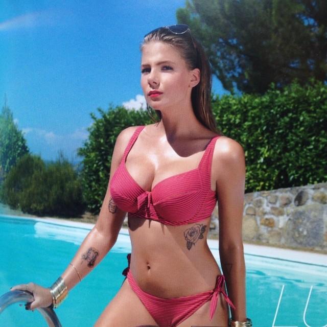 Marta Wierzbicka i jej piersi reklamują bieliznę Dalia (FOTO