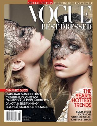 Siostry Olsen najlepiej ubrane według magazynu Vogue (FOTO)