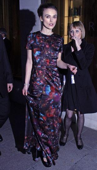 Keira Knightley - zachwyciła czy rozśmieszyła? (FOTO)