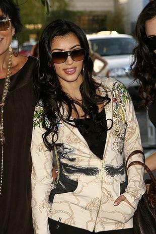 Kim Kardashian podczas tygodnia mody Mercedes Benz (FOTO)