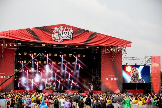 Coke Live Music Festival 2013 – święto radości