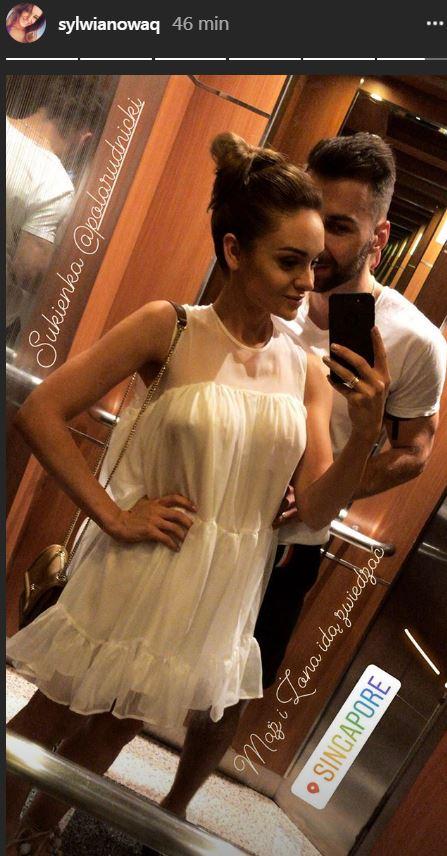 Sylwia Nowak z mężem podczas podróży poślubnej!