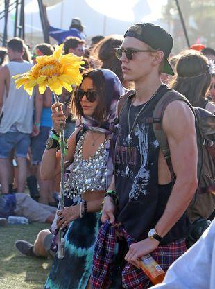 Vanessa Hudgens – największa fanka Coachelli (FOTO)