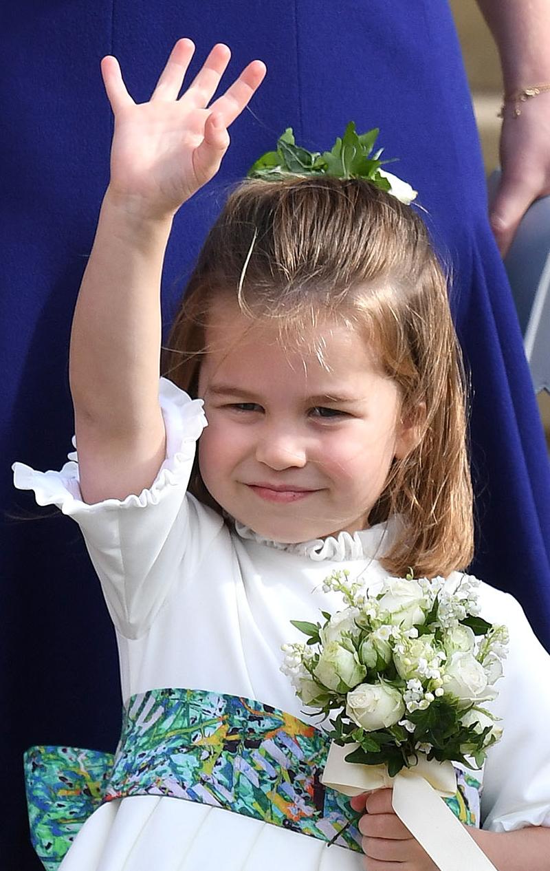 Mała Charlotte nabrała dworskich MANIER! Nie uwierzycie, co robiła na ślubie!
