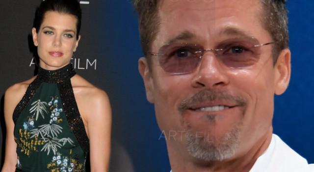 Brad Pitt i Charlotte Casiraghi spodziewają się dziecka?