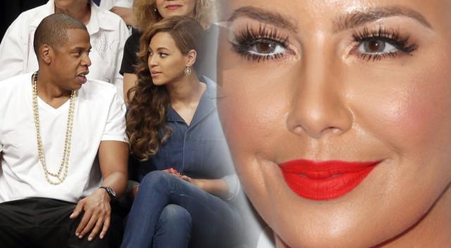 Amber Rose spała z Jayem Z? Ostrzega Bey: Uważaj, jestem Becky…