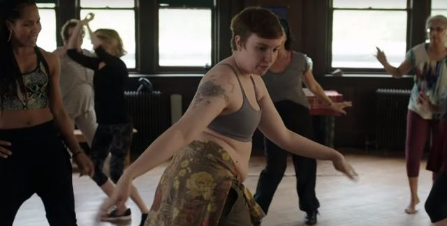 Tak Lena Dunham tańczy, gdy nikt nie patrzy? (VIDEO)