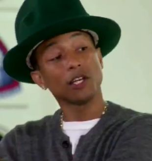 Pharrell Williams ma powody do płaczu! (VIDEO)