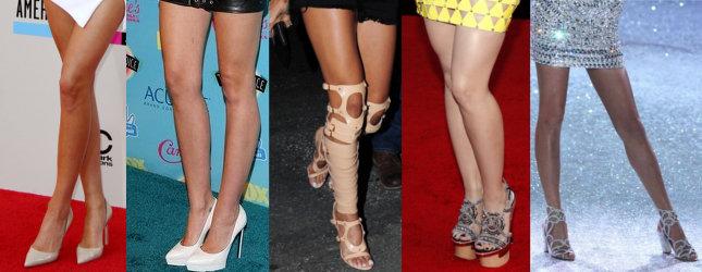 najpiękniejsze nogi w hollywood