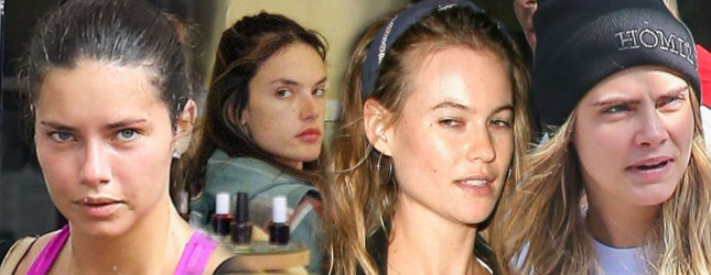 modelki bez makijażu